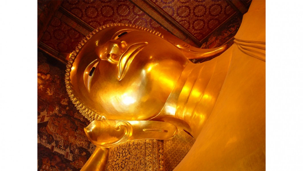 Phra Vihara of the Reclining Buddha
