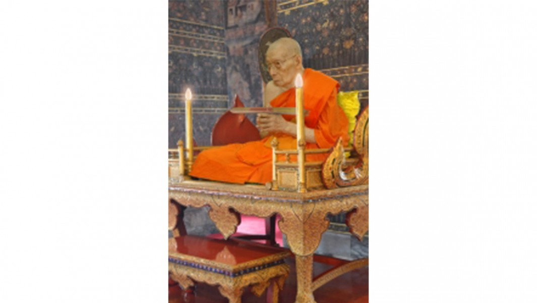 Phra Dhammapanyabordee, The abbot of Wat Pho